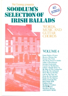 SOODLUM´S SELECTION OF IRISH BALLARDS - VOLUME 4