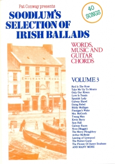SOODLUM´S SELECTION OF IRISH BALLARDS - VOLUME 3