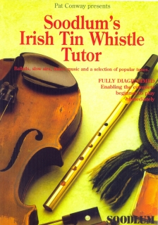 SOODLUM´S IRISH TIN WHISTLE TUTOR VOL. 1